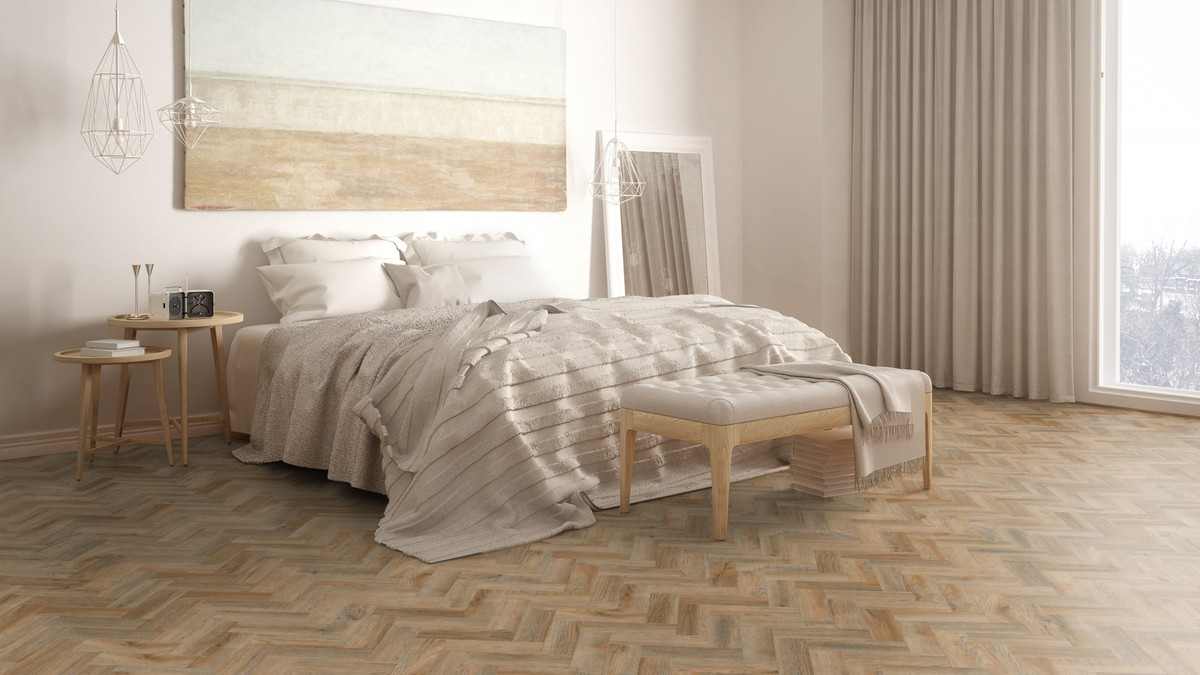 Vinylová podlaha Expona Domestic C15 5819 Cambridge Oak Mini Parquet