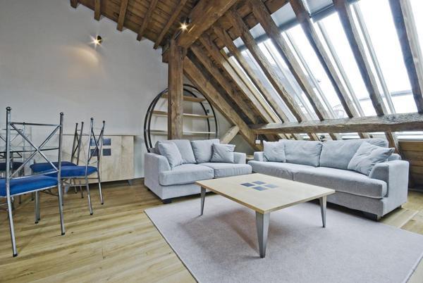 Luxusní podkrovní byt