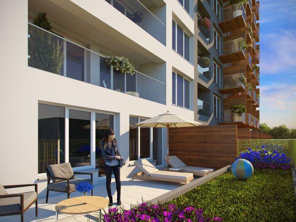 View Spořilov balkony u všech bytů