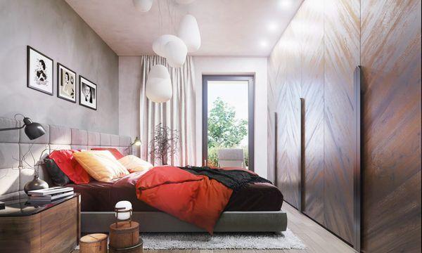 Tuchoměřické zahrady - interiér ložnice