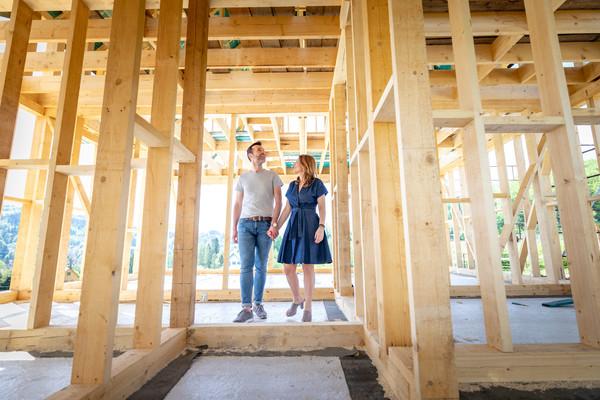 Realizace dřevostavby (Zdroj: Shutterstock)