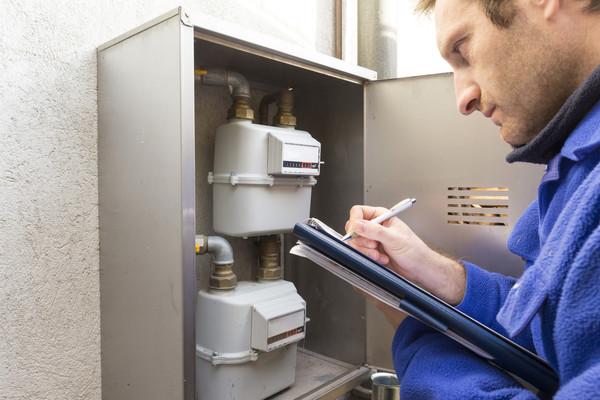 Odečet spotřeby plynu (Zdroj: Shutterstock)