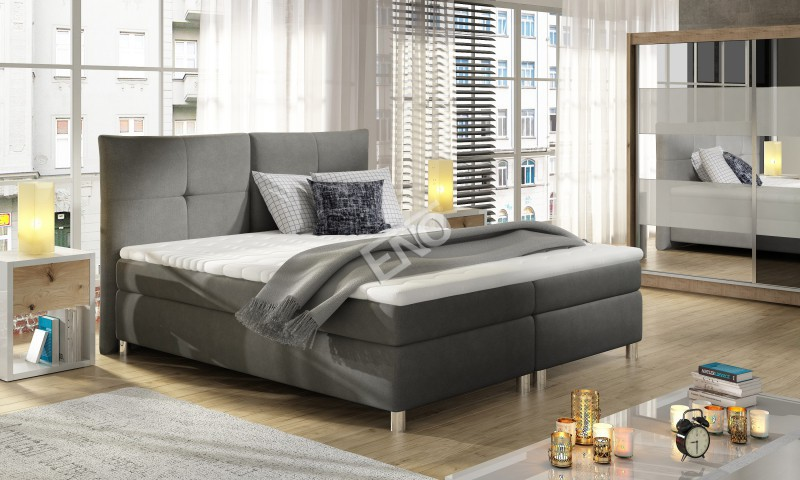 Boxspring Cleo + topper 160x200